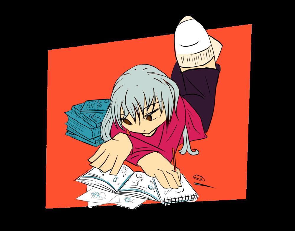 Illustration by Tezzerah